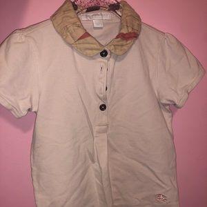 Burberry kids shirt negotiable